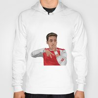 arsenal Hoodies featuring Mesut Ozil by siddick49