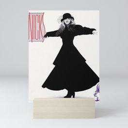 stevie nicks - rock a little cover - Mini Art Print