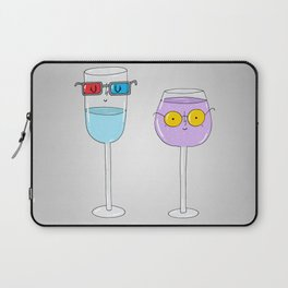 Glasses wearing glasses Laptop Sleeve