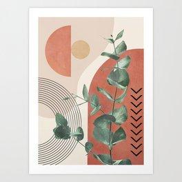 Nature Geometry IV Art Print