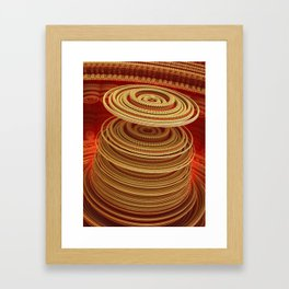 Turbine Framed Art Print