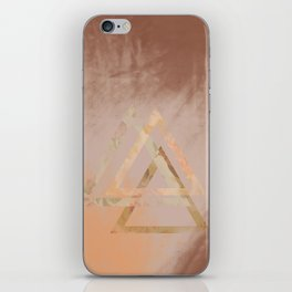 Floral Triangles iPhone Skin