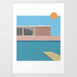 A Bigger splash Art Print