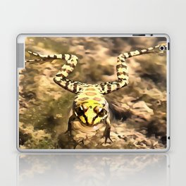 Swimming Frog Laptop & iPad Skin