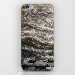 Torrent river iPhone Skin