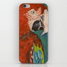 Green-winged Macaw iPhone & iPod Skin