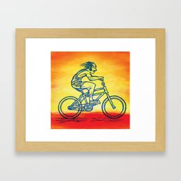 Bicycle 4 Framed Art Print