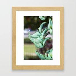 Jade Vine Framed Art Print