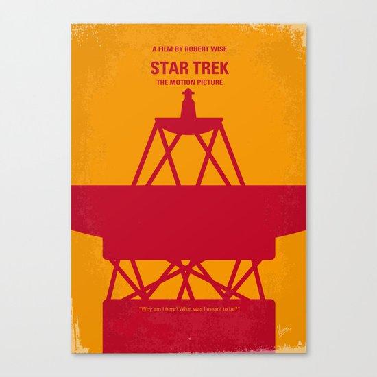 No081 My Star Trek 1 minimal movie poster Canvas Print