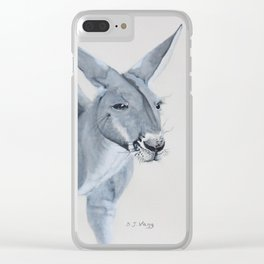 THE BOSS Clear iPhone Case