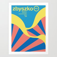 zbyszko single hop Art Print
