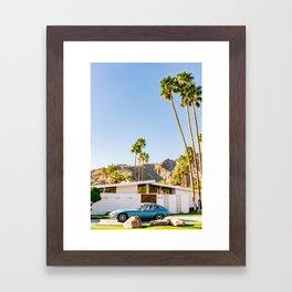 Palm Springs Ride VII Framed Art Print