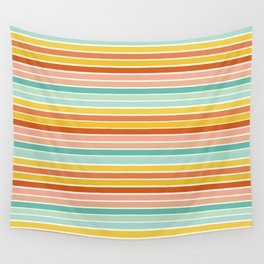 Over Striped Wall Tapestry