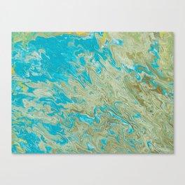 OceanGreen Canvas Print