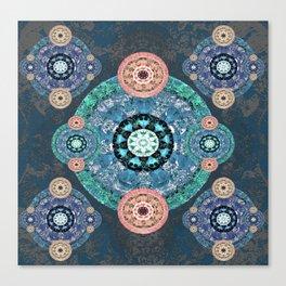 Ultimate Solace Mandala Canvas Print