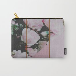 Pink Roses Palette Carry-All Pouch