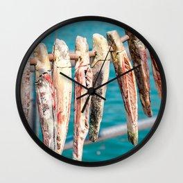Shells hanging Italy - Iseo Wall Clock