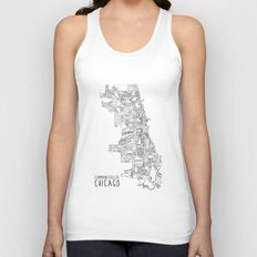 Communities of Chicago Unisex Tank Top
