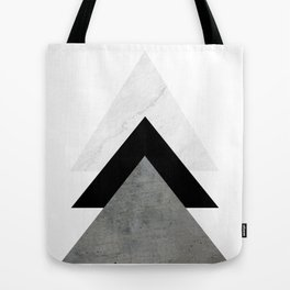 Arrows Monochrome Collage Tote Bag