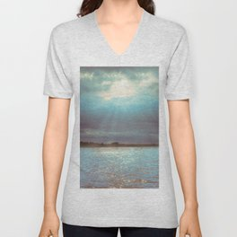 Across The Water Unisex V-Neck