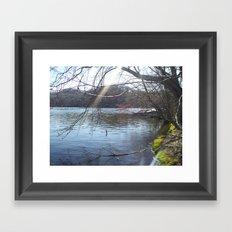 Cool Water Framed Art Print