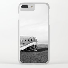 Abandoned DC-3 Fuselage Clear iPhone Case