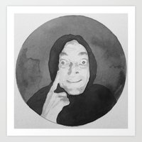 Marty Feldman Watercolor Art Print