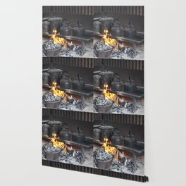 Camp oven Wallpaper
