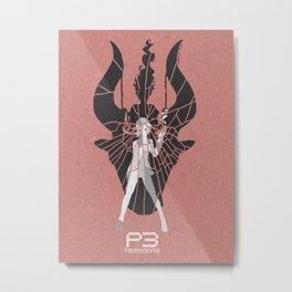Persona 3 Poster - Yukari Takeba Metal Print