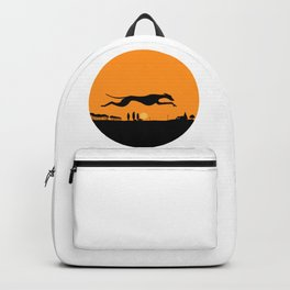 Halloween Whippet Backpack