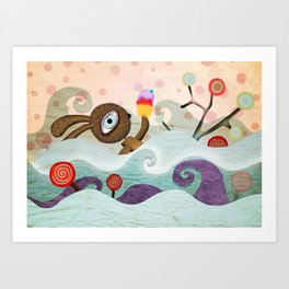 I just want you to find me Art Print