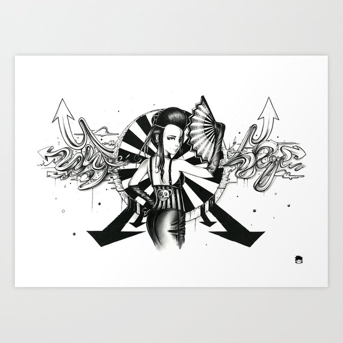 Midnight Carnival Art Print