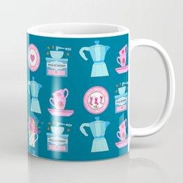 Coffee Christmas Espresso, moka, coffee pot, tea cups, coffee, china, plates, cups, kitchen, vintage Coffee Mug
