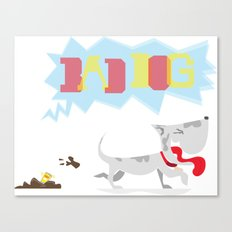 poo've got mail Canvas Print