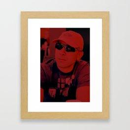 Red Sport Framed Art Print