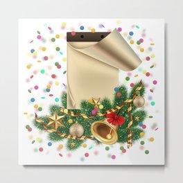 Christmas decoration Metal Print
