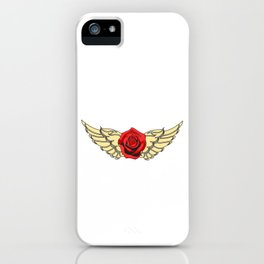 Rock N' Roll Rebel Queen Pure Rock Wanted And Will tee design for you! Guns and roses are in again!  iPhone Case