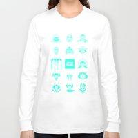 starwars Long Sleeve T-shirts featuring StarWars icon by SUSANNA CONTOLI