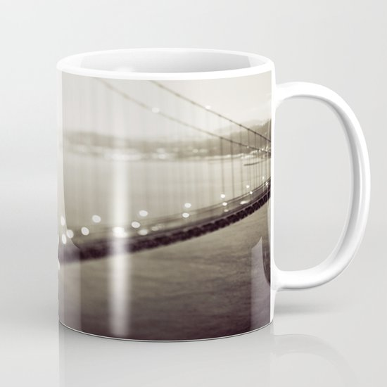 Meet Me In San Francisco (Black and White Edition)  Mug