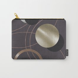 Golden Eclipses Carry-All Pouch