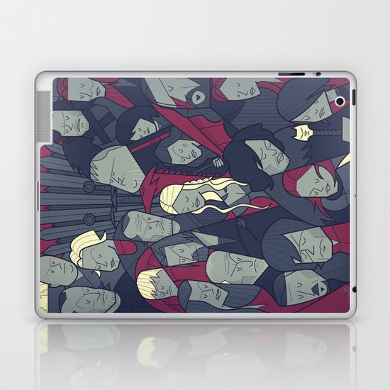 Ice and Fire Laptop & iPad Skin