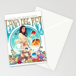 lana del ray la to the moon 2021 Stationery Cards