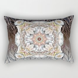 Rose Frills in Four Rectangular Pillow