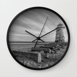 Olde Lighthouse Wall Clock