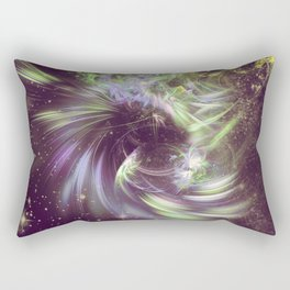 Twisted Time - Black Hole Effects Rectangular Pillow
