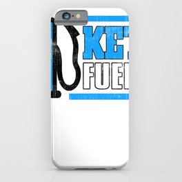 Keto Fueled Healthy Living Diet LCHF Low Carb High Fat Diet iPhone Case