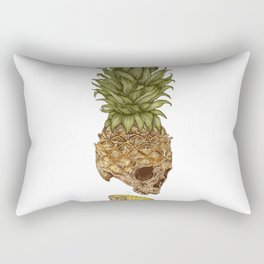 Pineapple Skull Rectangular Pillow