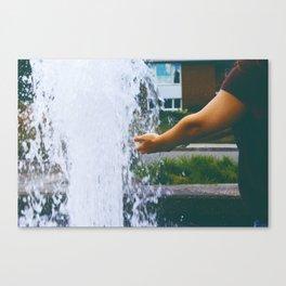 Let go Canvas Print