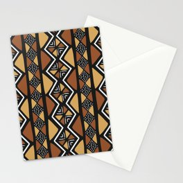 African mud cloth Mali Stationery Cards