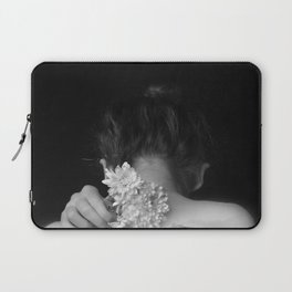 Flower and sea Laptop Sleeve